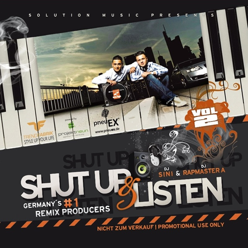 Solution Deejays - Shut Up & Listen Vol.2