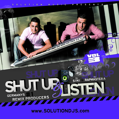 Solution Deejays - Shut Up & Listen Vol.3